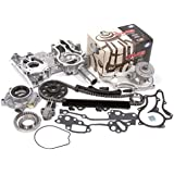 Evergreen TCK2000WOP 85-94 Toyota 22R 22RE 22REC Timing Chain Kit w/ Timing Cover, Water Pump & Oil Pump