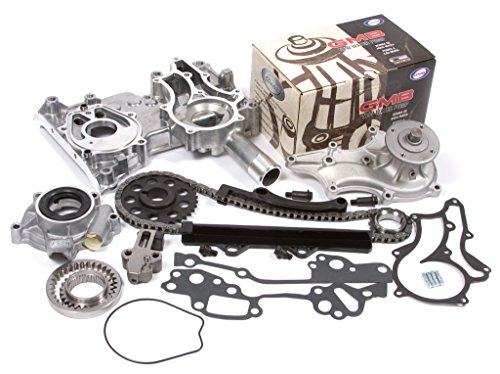 (Evergreen TCK2000WOP Fits 85-94 Toyota 22R 22RE 22REC Timing Chain Kit w/Timing Cover, Water Pump & Oil Pump)