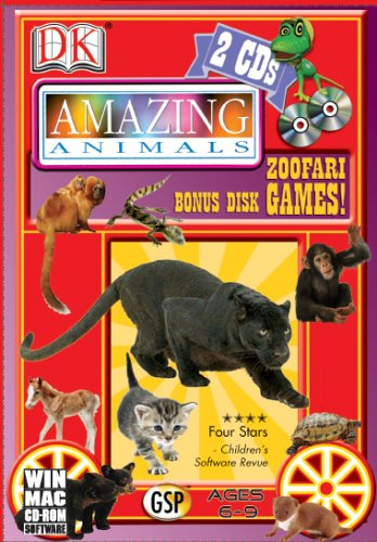 Amazing Animals With Zoofari Games (Win/Mac)