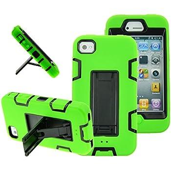 Amazon.com: Neon Green Chrome Case for Apple iPhone 4, 4S