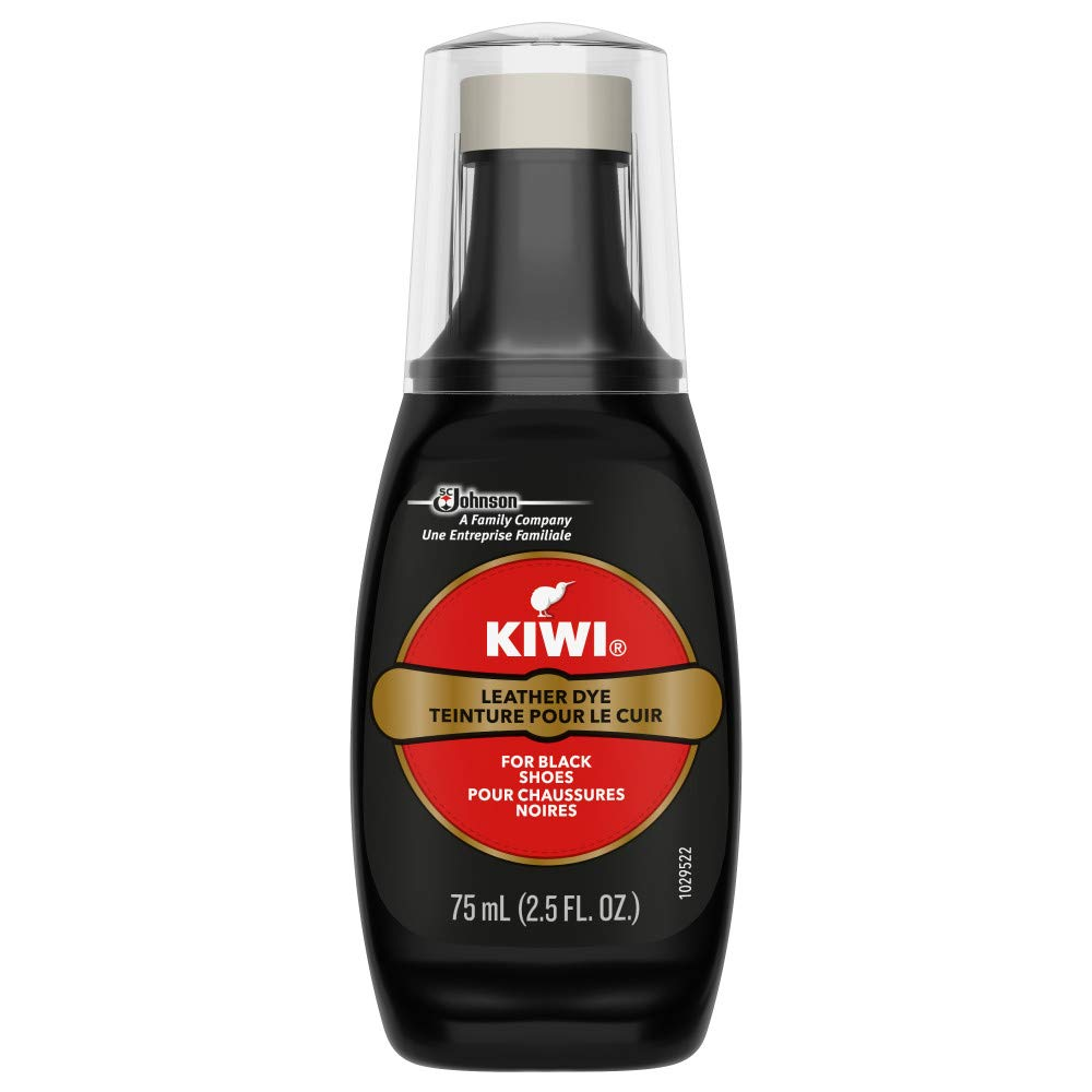 KIWI Leather Dye Black 2.5 fl oz