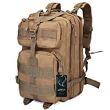 G4Free 40L Sport Outdoor military backpack tactical backpack Molle Backpack military rucksack Camping Hiking Trekking Bag Custom Design (Tan)