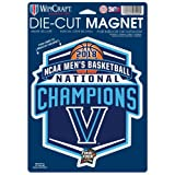 WinCraft Villanova Wildcats Official NCAA 6.25'' x 9'' 2018 National Championship Car Refrigerator Magnet 6.25x9 by 983756