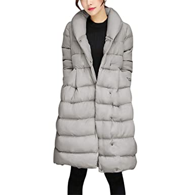 Amazon.com: AOJIAN Women Jacket Long Sleeve Outwear Plush Hooded Button Quilted Solid Coat Gray: Clothing
