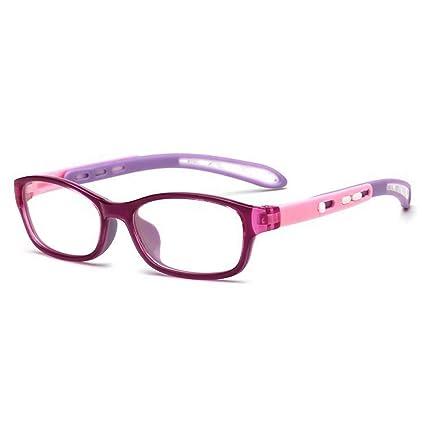 d98e806557 Fantia Unisex child Non-prescription Glasses Frame Clear Lens Kids  Eyeglasses (Purple)  Amazon.ca  Luggage   Bags