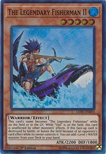 The Legendary Fisherman II - LEDU-EN015 - Super Rare - 1st Edition - Legendary Duelists (1st Edition)