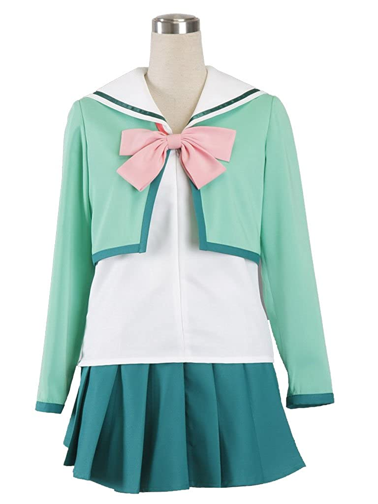 Antaina Mint Lovely Japanese Girl Long Sleeve Lolita Sailor School Uniform XC-SSF-061910