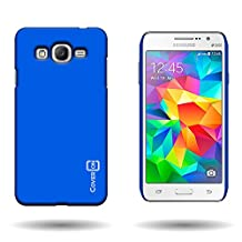 Galaxy Grand Prime Case, CoverON® for Samsung Galaxy Grand Prime Hard Case [Slender Fit Series] Ultra Slim Polycarbonate Back Phone Cover with Matte Non-Slip Grip Coating - Royal blue