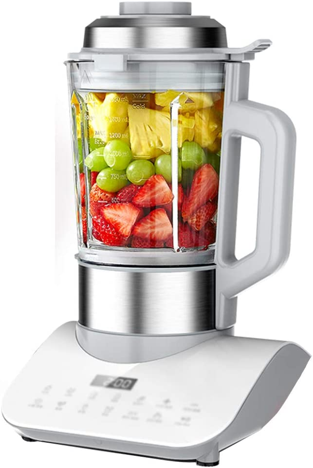 1200 Watt Immersion Multi-Purpose Blender with Glass Jar, 1650ml Smoothie Cup and Food Processor Attachment, Copper Motor Brushed 304 Stainless Steel