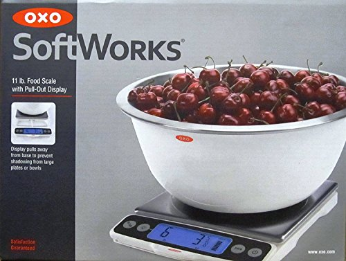 OXO 11 Pound Food Scale - White
