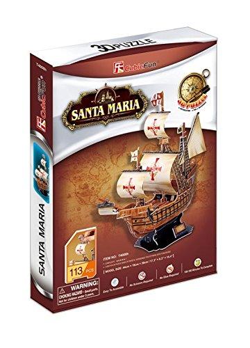 CubicFun T4008h Santa Puzzle Pieces product image