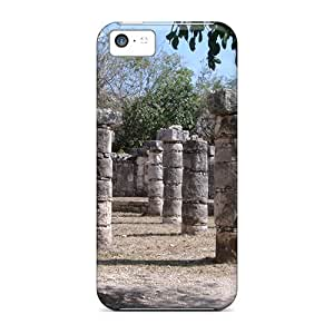 New Snap-on Ajephke Skin Case Cover Compatible With Iphone 5c- Mexico Chichen