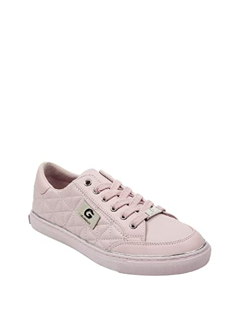 dea6aabc084f9 G By Guess Omerica Quilted Sneakers