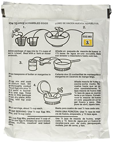 Powdered Eggs Dried Egg Mix for Scrambled Eggs, Baking, Camping 6 oz by Sonstegard by Sonstegard (Image #3)