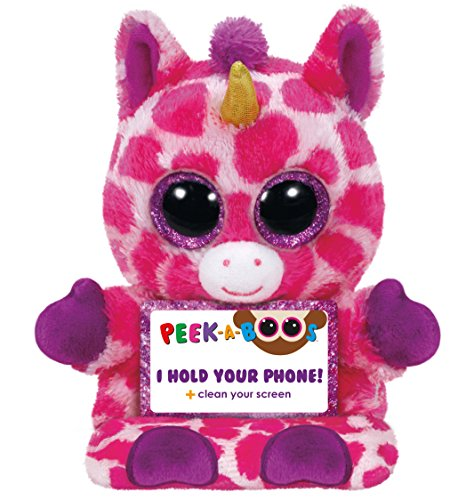 Ty Peek-A-Boo Phone Holder with Screen Cleaner Bottom, Uni