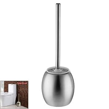 Bürstengarnitur Klobürste Toilettenbürste verchromt 35cm WC-Garnitur