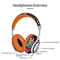 Bluedio A2 (Air) Lightweight Stylish Stereo Wireless Bluetooth Headphones with Mic by Bluedio