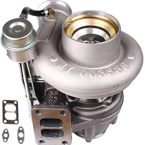 (Diesel Turbocharger HX35 HX35W Turbo Fit for 1999 2000 2001 2002 Dodge Ram 2500 3500 5.9L Truck 6BT Cummins Engine with Internal Wastegate)