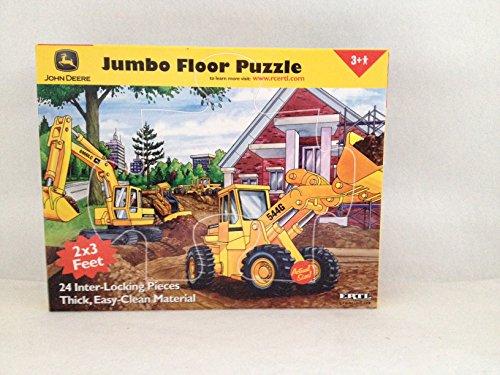 John Deere Jumbo Floor Puzzle - 24 Piece - Construction - Piece 24 Construction Floor