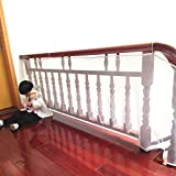 Zerlar Safety Net Balcony Stairway Railing Protector for Children Baby Toddlers Kids Pet