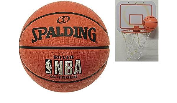 Baloncesto Spalding Al aire libre de tamaño 7 + 2nd elección ...