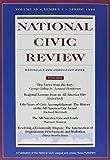 National Civic Review, No. 1, Spring 1999 9780787949099