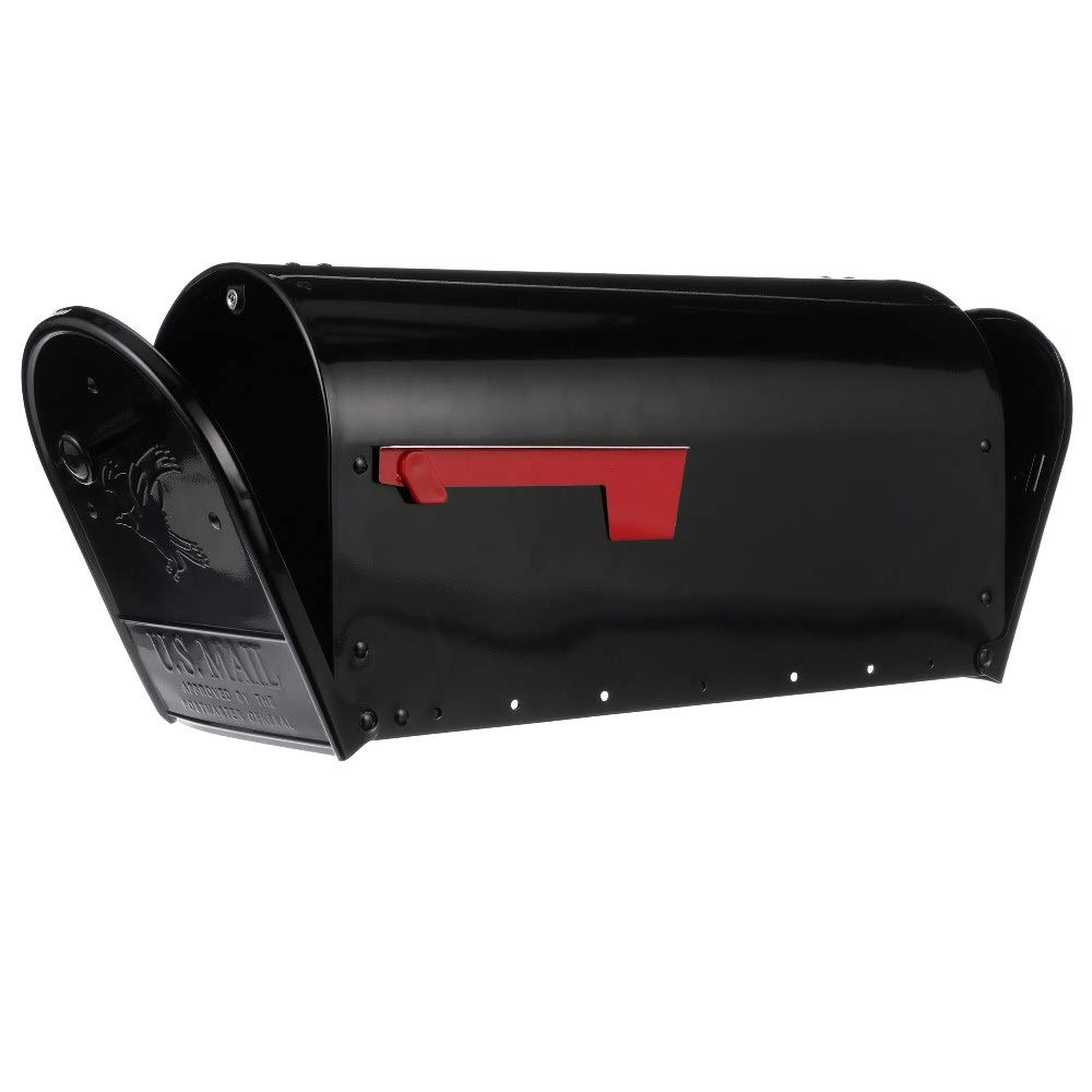 Gibraltar Mailboxes OM160B01 Outback Double Door, Large Capacity Mailbox, Black