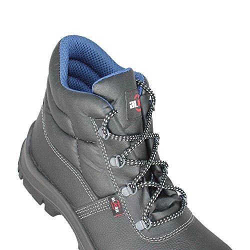 Stivali di sicurezza, misura larghezza: 42, Scarpa: 11
