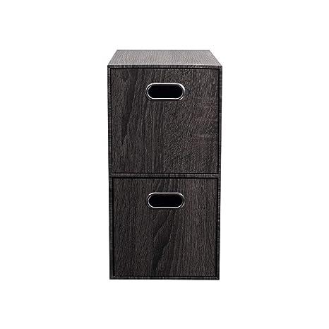 Amazon.com: Cajas de almacenamiento con tapa, grande simple ...