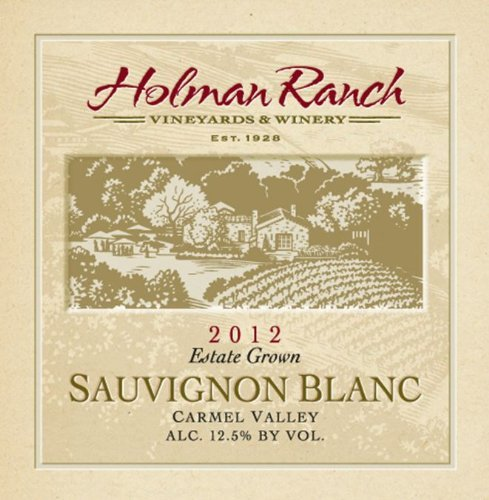2012 Holman Ranch Carmel Valley Estate Grown Sauvignon Blanc 750 mL Wine