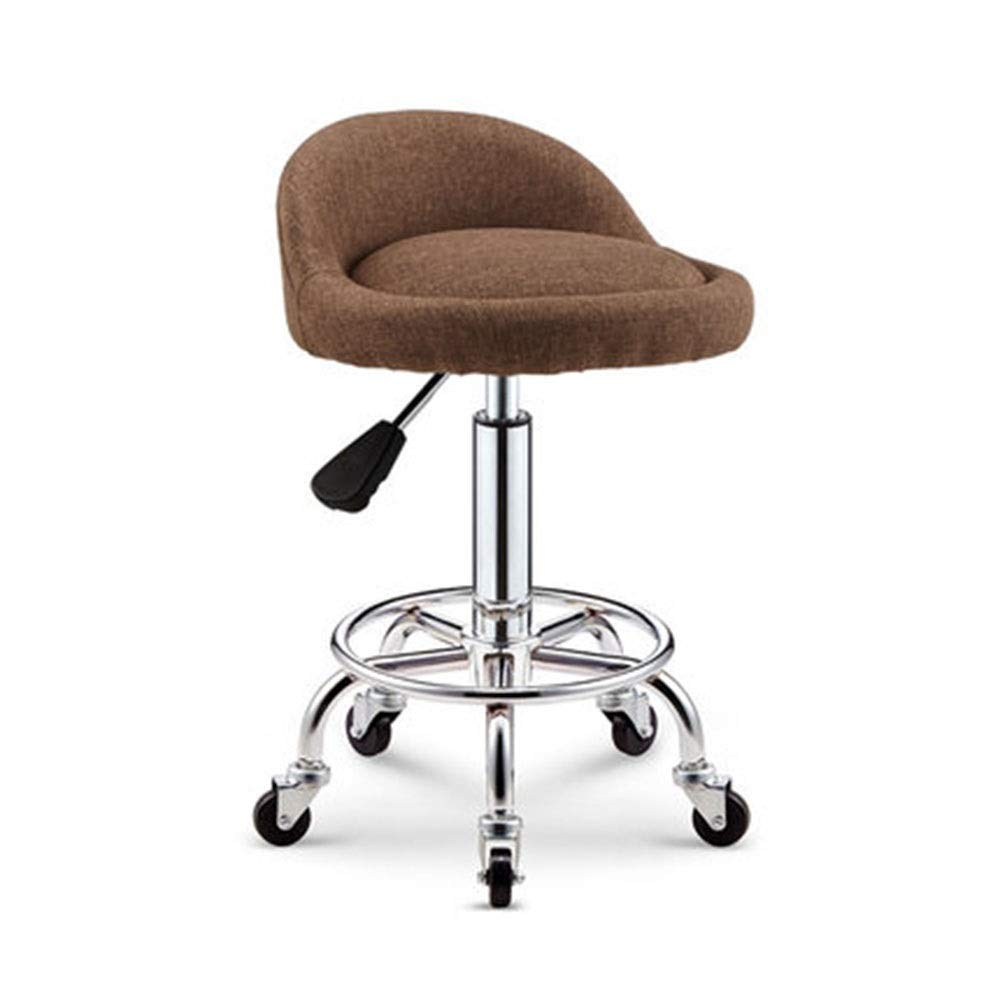 H Bar Chair High Table and Chair Cashier Bar Stool Lifting redate Front Desk Household Backrest Learning Chair 9 colors 1 Size (color   A)
