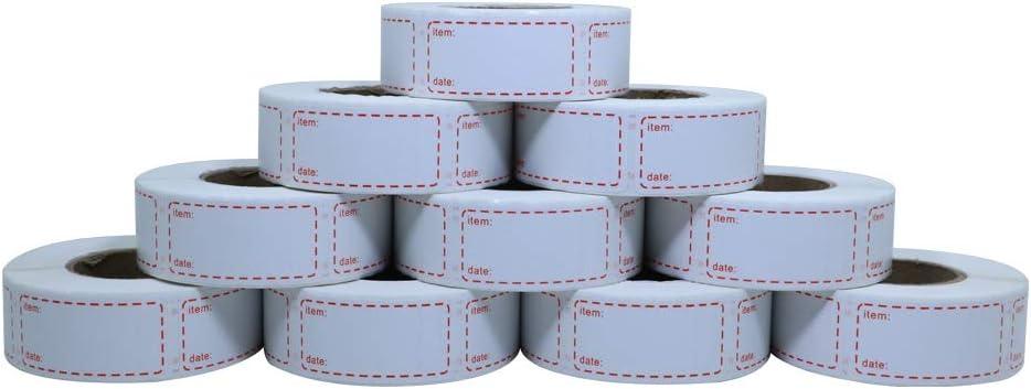 Aleplay Food Storage Labels 1 x 2