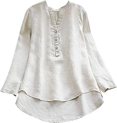 Mujer Blusa Camiseta Vestido Vintage Bohemian Traje de otoño Calle y Playa,Sonnena Vestido Vintage de la túnica Manga Larga de la Vendimia de Las Mujeres Vestido Largo Maxi Plus Talla: Amazon.es: Ropa