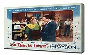 Poster - So This is Love (1953)_08 - Pintura en lienzo