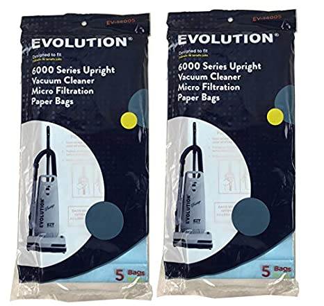 Bernina//Evolution Vacuum Bags 5 Pack Genuine