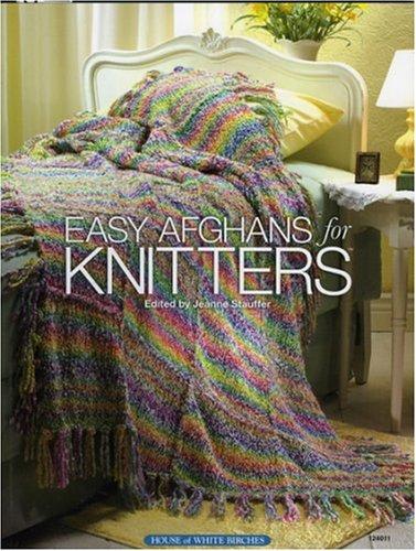 Easy Afghans Knitters - Easy Afghans for Knitters