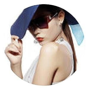 alfombrilla de ratón Glamour en el sombrero b - ronda - 20cm