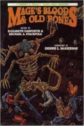 Book Mage's Blood & Old Bones: A Tunnels & Trolls Anthology by Elizabeth Danforth (1992-08-03)