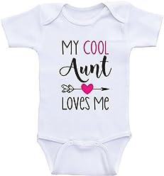 4566c8a9e Amazon.com  Heart Co Designs  Aunt Baby Clothes