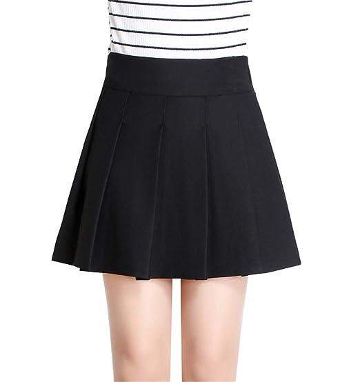 Deayi - Falda Corta de algodón Puffy para Mujer, con Faldas ...