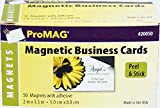 ProMAG 2 x 3-1/2 Inches Adhesive Business Card