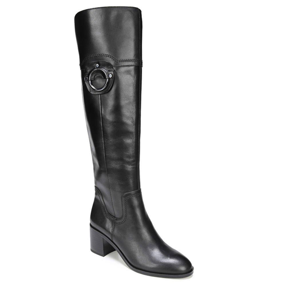 Franco Sarto Womens Beckford B074WKFBHP 9.5 B(M) US|Black Leather