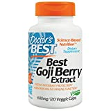 Best Goji Berry Extract 600 mg 120 VCaps Doctor's Best Review