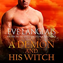 A Demon and His Witch Audiobook by Eve Langlais Narrated by Mindy Kennedy