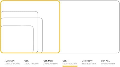 Large Cloth Erangel Optimized for Gaming Sensors SteelSeries PUBG QcK Gaming Surface Maximum Control