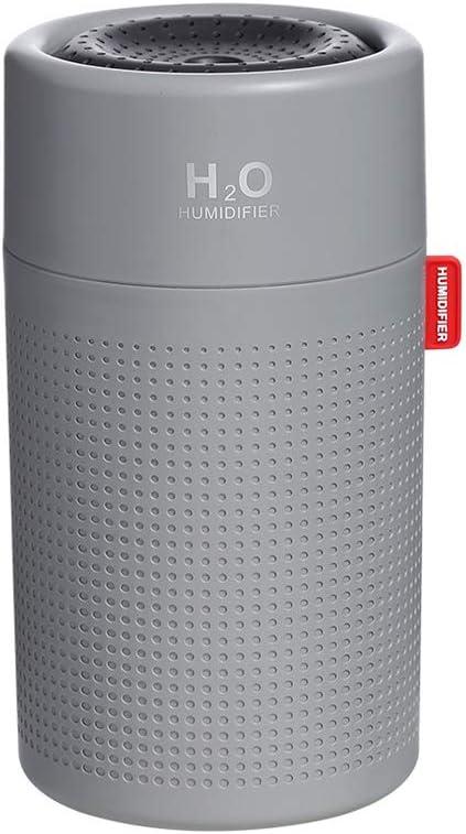 SmartDevil Umidificatore,750 ml Umidificatore a Ultrasuoni,Auto spegnimento Senza Acqua e 2 modalit/à nebulizzazione Regolabile per Camera da Letto casa e Ufficio,Super silenzioso