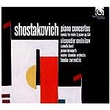 ショスタコーヴィチ:ピアノ協奏曲、ヴァイオリン・ソナタ (Shostakovich : Piano Concertos, Sonata for Violin & Piano Op.134 / Alexander Melnikov, Isabelle Faust)