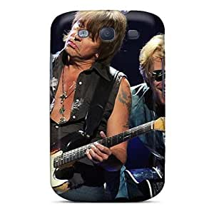 Durable Protector Case Cover With Bon Jovi Band Hot Design For Galaxy S3