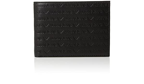 Armani Jeans wallet man black: Amazon.es: Ropa y accesorios