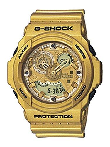 Casio G Shock Gold Tone Resin Mens Watch GA300GD-9A